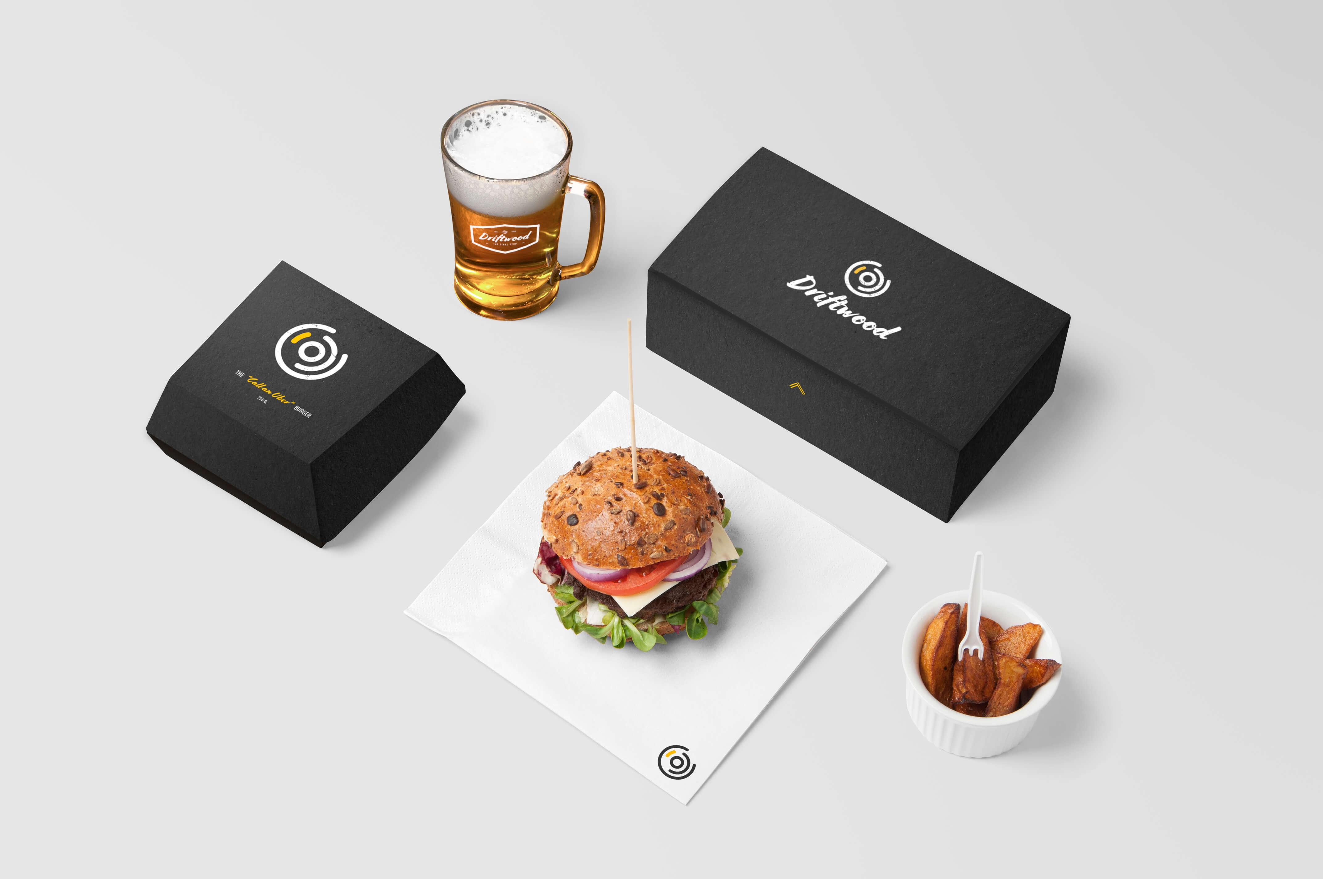 Burger og Boks ny logo